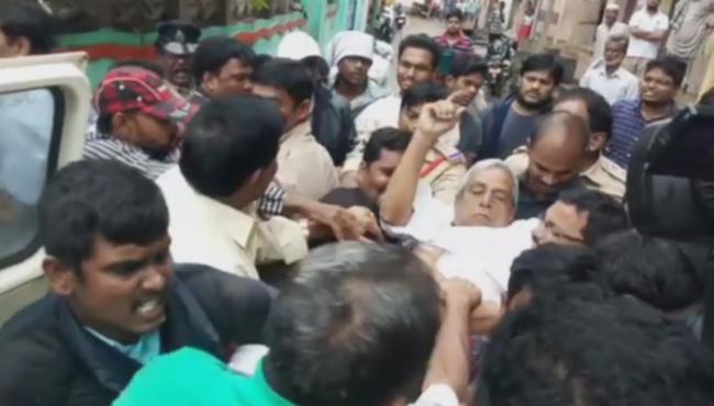 Police Arrest CPM Leader Maduh - Sakshi