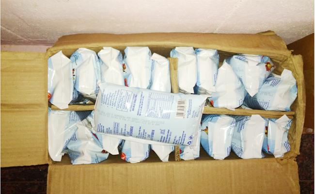 Expired Milk Distribution In Anantapur Anganwadi - Sakshi