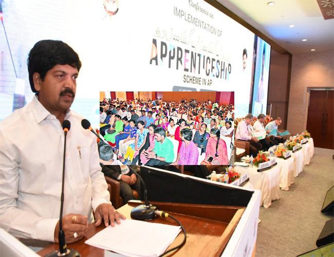 Apprenticeship In All Sectors Kollu Ravindra In Visakhapatnam - Sakshi
