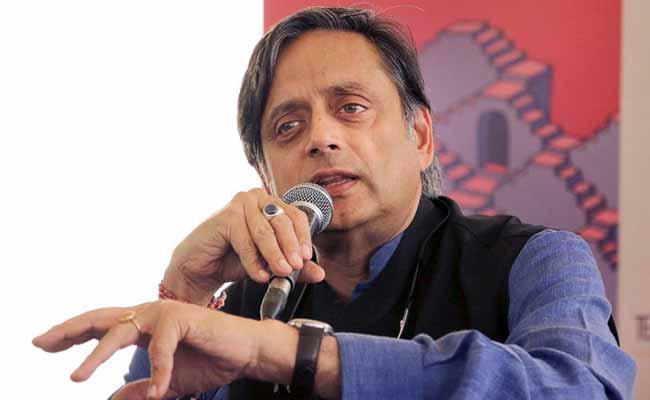 Muslim Leader Offers Bounty To Blacken Shashi Tharoor Face - Sakshi