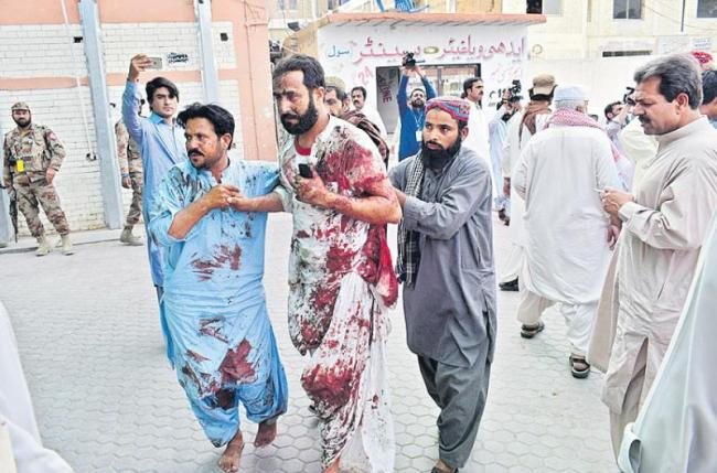 133 killed, over 200 injured in twin election-related blasts in Pakistan - Sakshi