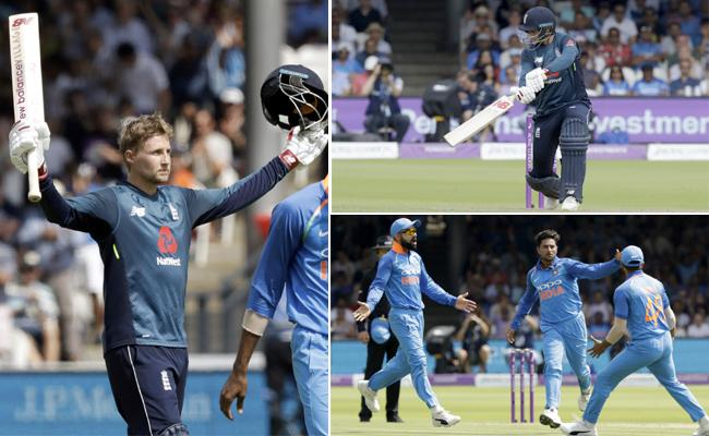 England Set 323 Target To Team India In Second One day - Sakshi
