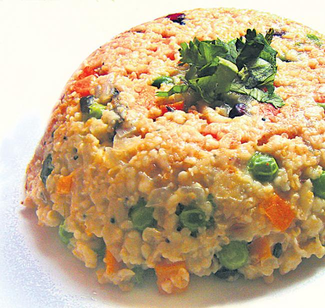 Family food special on upma - Sakshi