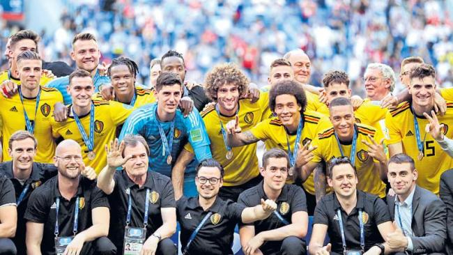 elgium capture third place with decisive win over England - Sakshi