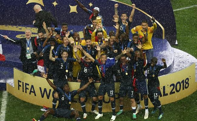 France are the  FIFI world Cup 2018 champions - Sakshi