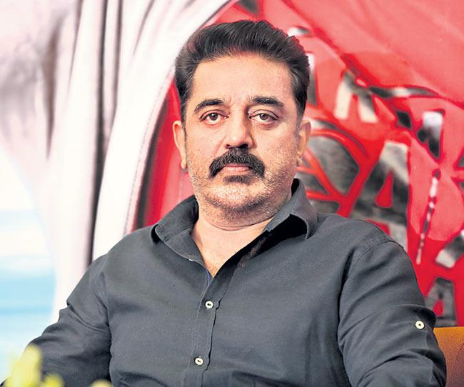 Kamal Haasan lashes out at AMMA for reinstating Dileep - Sakshi