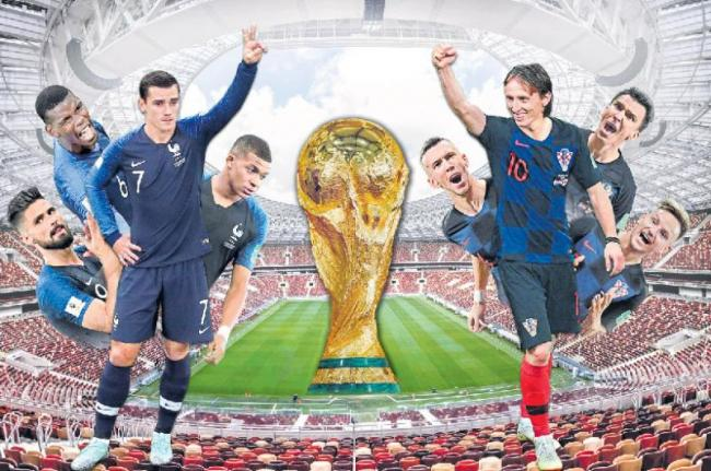 fifa world cup 2018:Today is the final of Football World Cup - Sakshi