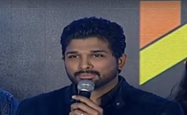 Allu Arjun Speech In Vijetha Success Meet - Sakshi