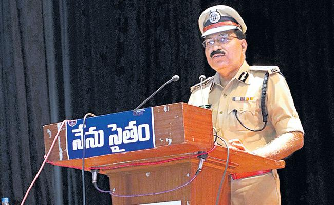 Telangana Villages Will Be In CCTV Surveillance Says DGP Mahender Reddy - Sakshi