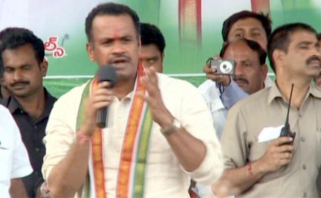 Congress Leader Komatireddy Venkat Reddy Slams To CM KCR - Sakshi