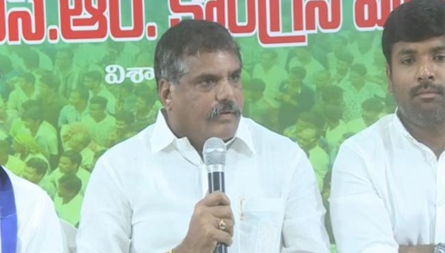 Bosta Satyanarayana Slams Chandrababu Naidu For Bonding With BJP  - Sakshi