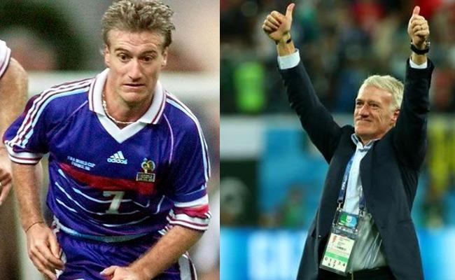 Deschamps Key Role in France Win the World Cup twice - Sakshi