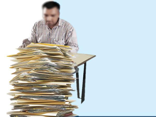 Increased workload in revenue department - Sakshi