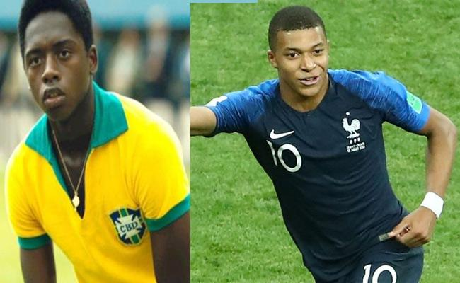 After Mbappe Matches Another Pele Record - Sakshi