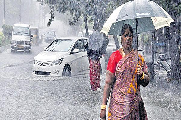 High rainfall throughout the state - Sakshi