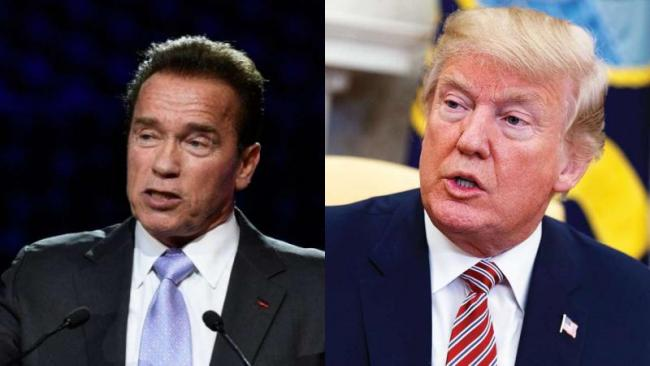 Arnold Schwarzenegger Slams Trump on Putin Meet - Sakshi