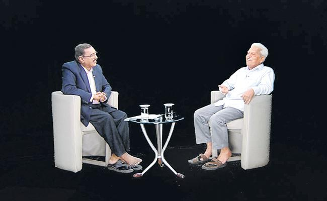 Sakshi Special Interview With Varavara Rao - Manasulo Maata