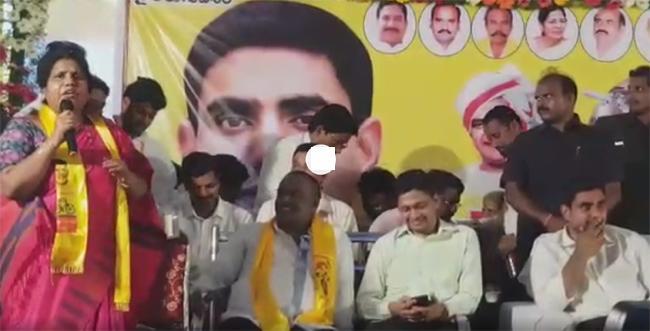 Former Minister Peethala Sujatha Shocking Comments About Lokesh - Sakshi