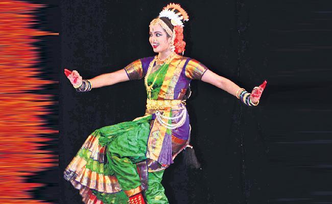 Trisha Kuchipudi Dance Performance in Ravindra Bharathi - Sakshi
