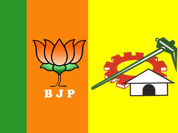 TDP And BJP Plays New Drama In Delhi - Sakshi