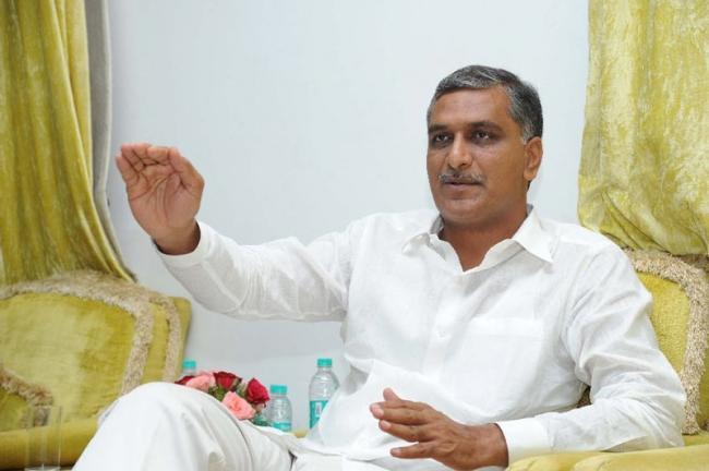 Harish Rao seeks national status for Kaleshwaram project - Sakshi