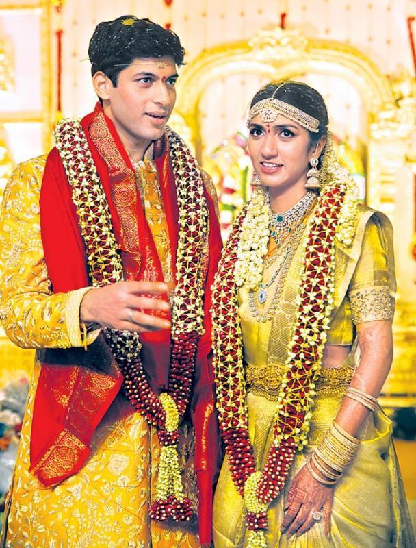 T Subbarami Reddy's Grandson Anirudh Wedding - Sakshi