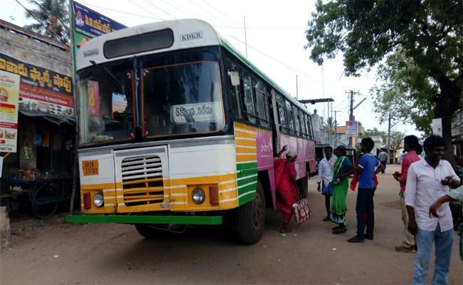RTC Charges Hikes In Palle Velugu Busses Prakasam - Sakshi