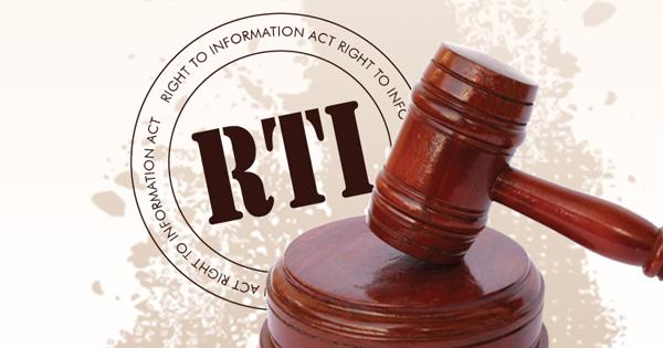 Dileep Reddy Writes On Proposed RTI Act - Sakshi