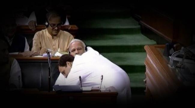 Speaker Objects Rahul Gandhis Behaviour In Loksabha - Sakshi