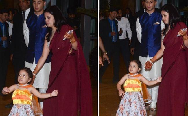 Ziva Dhoni dances with mom Sakshi