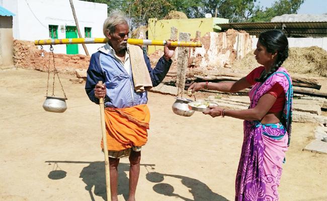 Begger Pension Stoped For Land In Online Webaite In Chittoor - Sakshi