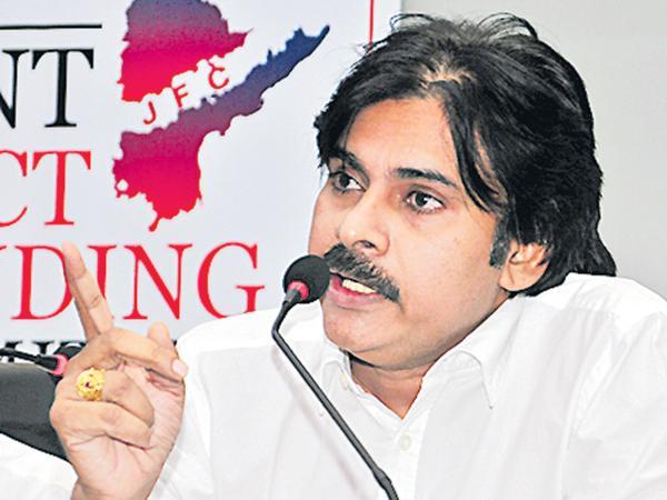 Pawan Kalyan fires on Chandrababu and TDP MPs - Sakshi