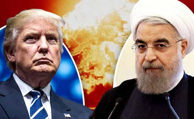Donald Trump Warns Iran President On Twitter - Sakshi