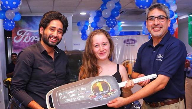 Ford India Celebrates One Million Customer Milestone - Sakshi