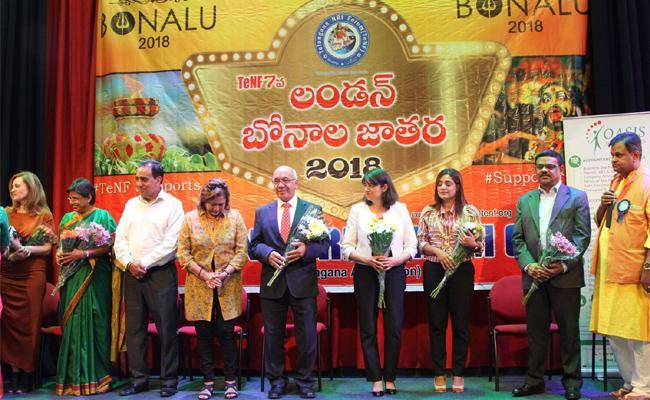 Bonalu jathara held in London - Sakshi