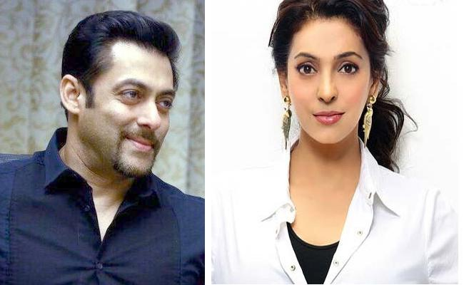 Salman Khan Once Asked Juhi Chawla Father That He Want To Marry Her - Sakshi