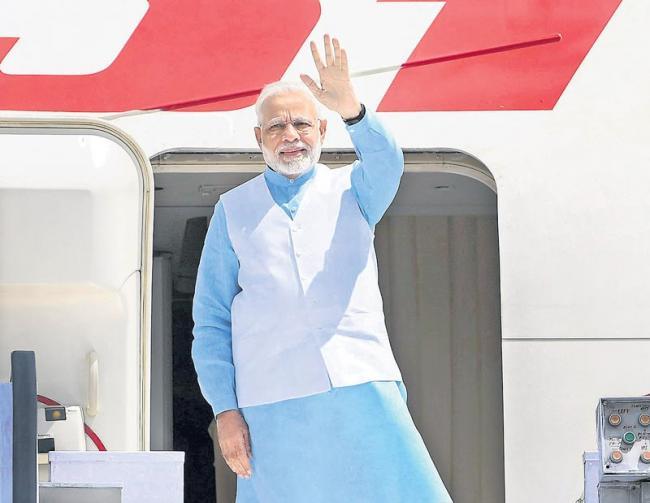 PM Modi Becomes First Indian Prime Minister To Visit Rwanda - Sakshi