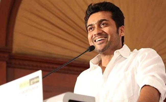Suriya Has Donated 1 Crore To The Farmers In Tamil Nadu - Sakshi