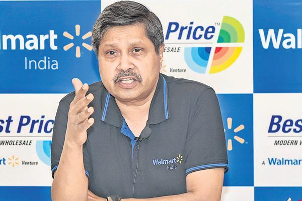 Walmart looks to double wholesale presence in India, - Sakshi