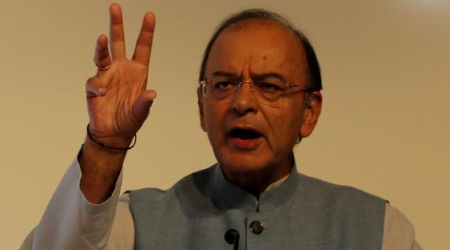 Arun Jaitley Says Congress Manufacturing Fake Rafale Controversy  - Sakshi