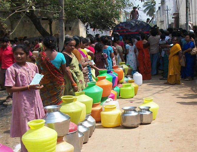 Drinking Water Problems In Nellore - Sakshi