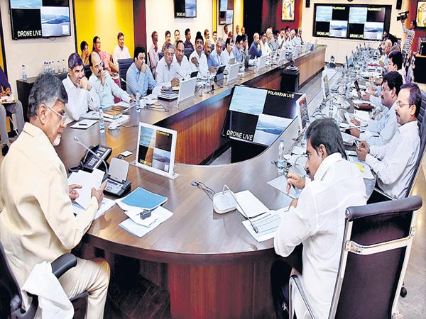 Model Colonies for Polavaram expats say Chandrababu - Sakshi