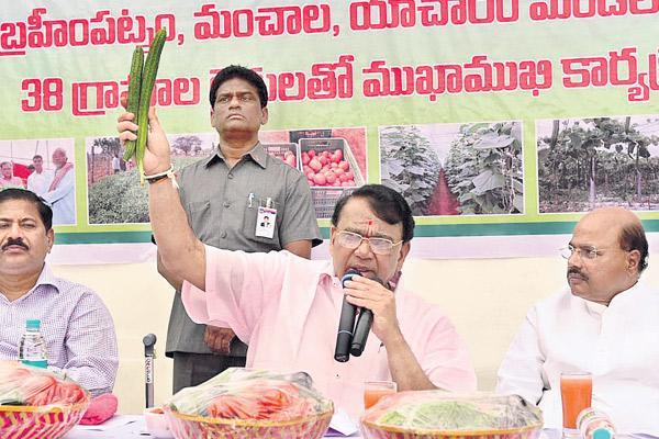 Crop colonies for farmers - Sakshi
