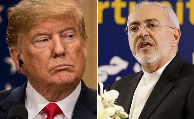 Iran Foreign Minister Tweets Back At Donald Trump - Sakshi