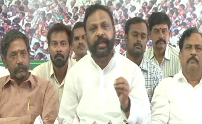 YSRCP Leaders Fires On Chandrababu Government - Sakshi