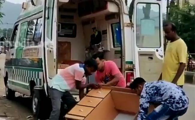 Furniture Move In Ambulance - Sakshi