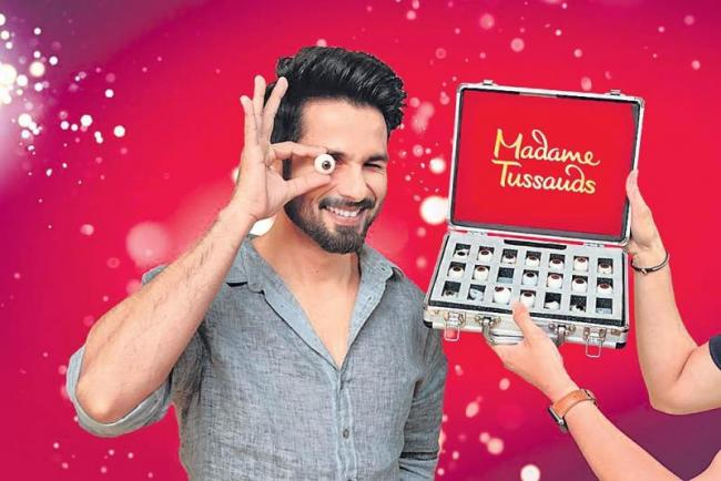 Shahid Kapoor to soon join league of superstars with wax statue - Sakshi