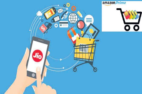 Amazon team up with Vodafone and Airtel - Sakshi