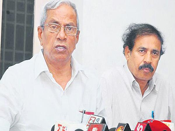 CPM and CPI Leaders comments on AP Bandh - Sakshi