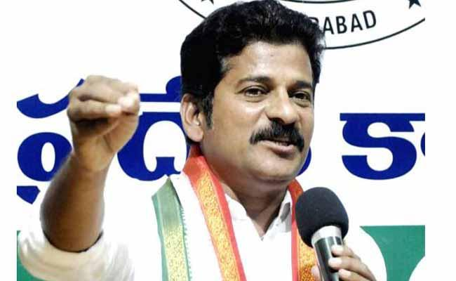 TRS Party No Stand On Special Status Says Revanth Reddy - Sakshi